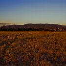 The Dandenongs Sunset by Michael Eyssens