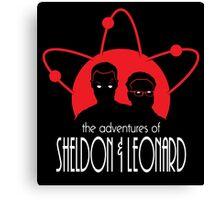 The Adventures of Sheldon & Leonard Canvas Print