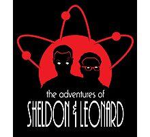 The Adventures of Sheldon & Leonard Photographic Print