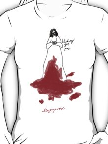 'Bleeding Girl Prays' T-Shirt