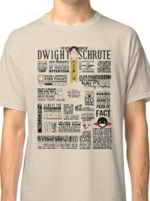The Wise Words of Dwight Schrute (Light Tee) Classic T-Shirt