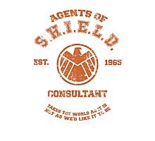 Agents of S.H.I.E.L.D. Consultant Photographic Print