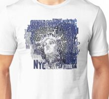 LIBERTY LETTER by Tai's Tees Unisex T-Shirt
