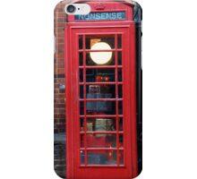 Unusual phone box iPhone Case/Skin