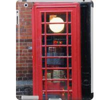 Unusual phone box iPad Case/Skin