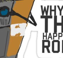 ClapTrap Troubles Sticker
