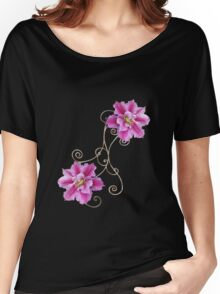 clematis Women's Relaxed Fit T-Shirt