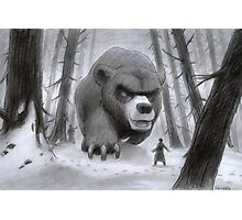 Vlad and Lev confront the Great Bear Photographic Print