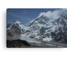Mount Everest from Kala Patar Canvas Print