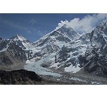 Mount Everest from Kala Patar Photographic Print