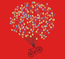 Bike & Balloons One Piece - Long Sleeve