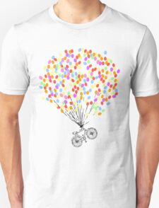 Bike & Balloons Unisex T-Shirt