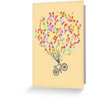 Bike & Balloons Greeting Card