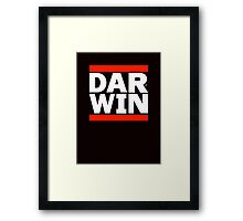 DAR-WINNING wht by Tai's Tees Framed Print