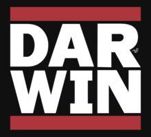DAR-WINNING wht by Tai's Tees Kids Tee
