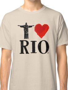 I Heart Rio de Janeiro (blk) by Tai's Tees Classic T-Shirt