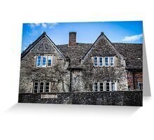 Old House in the Village of Lacock Greeting Card