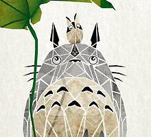 Totoro by LETTHEM