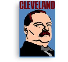 GROVER CLEVELAND Canvas Print