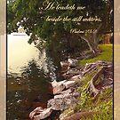 Psalms 23:2 by Ginny Schmidt