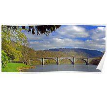 Dunkeld Bridge Poster