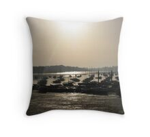 chichester harbour Throw Pillow