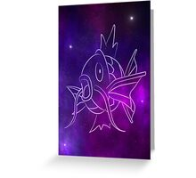 SpaceKarp Greeting Card