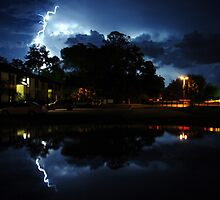 Lightning Strikes by Michael Lane