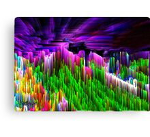 Asgard, Roof of the World Canvas Print