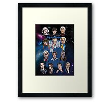 Lords of Time Collective Framed Print