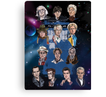 Lords of Time Collective Canvas Print