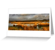 Reed Pond, Bodmin Moor Greeting Card