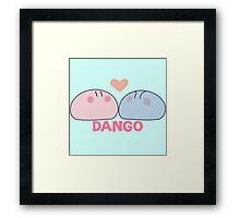 Dango Framed Print