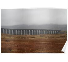 The Ribble-head viaduct Poster