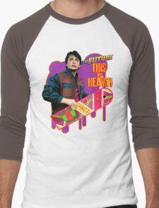 Happy 2015 - The Future, this is heavy Men's Baseball ¾ T-Shirt