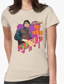 Happy 2015 - The Future, this is heavy Womens Fitted T-Shirt