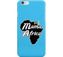 MAMA AFRICA iPhone Case/Skin