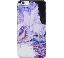 Iris watercolor iPhone Case/Skin