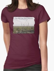Organ Pipe Cactus National Monument Womens Fitted T-Shirt
