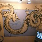 chinese dragon wall mural by imajica