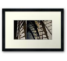 ballycopeland windmill triptych Framed Print