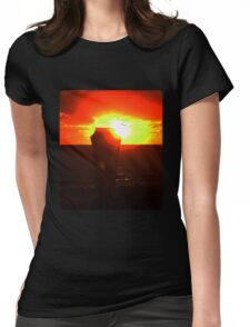 In to the Sun Womens Fitted T-Shirt