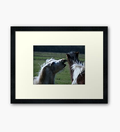 Have you heard they now do matted prints on Red Bubble!!!!! Framed Print