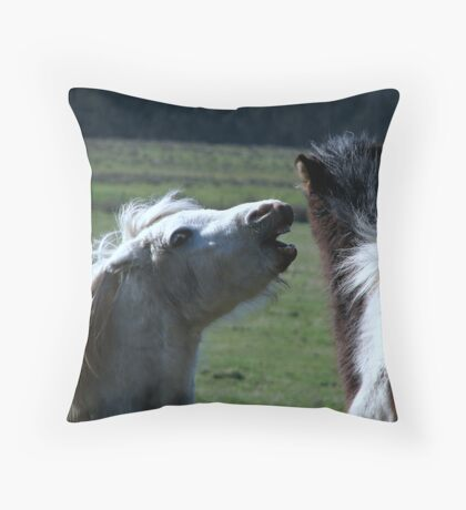 Have you heard they now do matted prints on Red Bubble!!!!! Throw Pillow