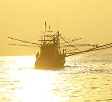 Fishing Boat B by Rick Olson