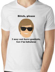 Fabulous Ken Mens V-Neck T-Shirt