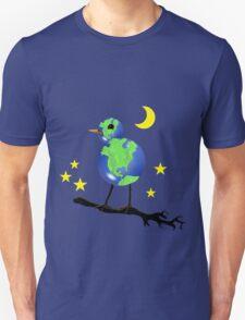 Global Bird For Earth Day Unisex T-Shirt