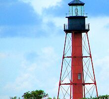 Anclote Island Lighthouse by George  Link