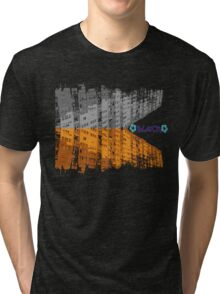 block surrounded life Tri-blend T-Shirt