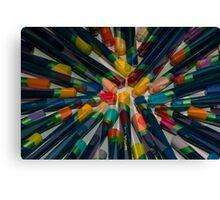 Colourful Tips Canvas Print